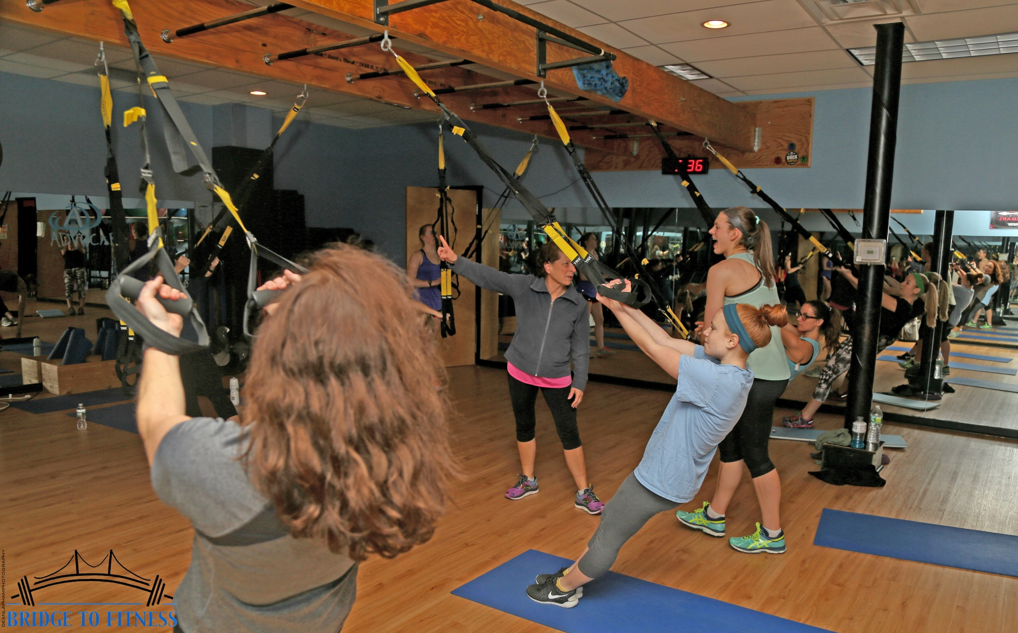 Exercise in Newport RI at BridgetoFitness.com
